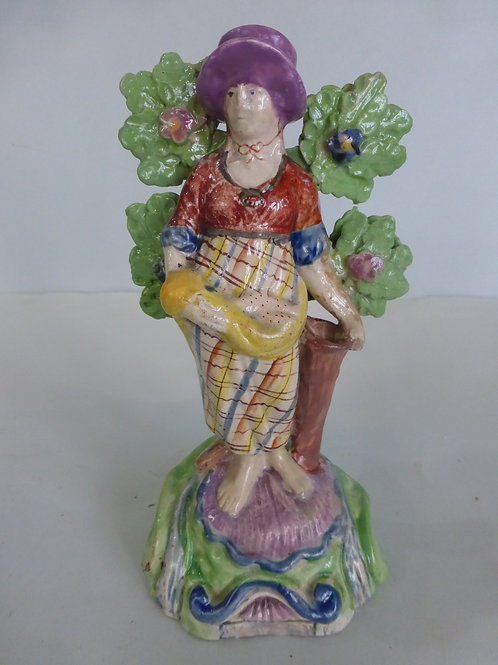 19thc.Staffordshire Pearlware figure of WATER c.1820 Ref # 4254