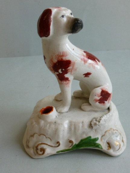 19THC. STAFFORDSHIRE DOG # 2631