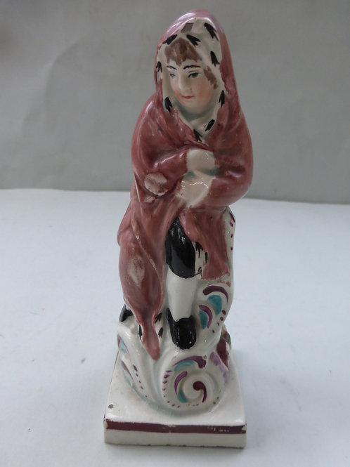 Early 19thc. Pearlware Staffordshire WINTER Ref. 3743