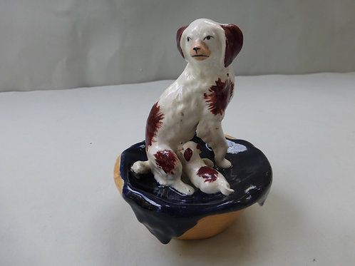 19THC STAFFORDSHIRE DOG # 3312