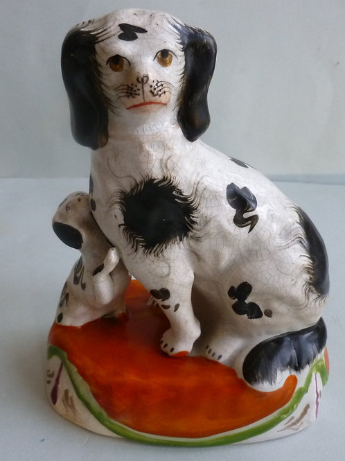 STAFFORDSHIRE DOGS # 2906