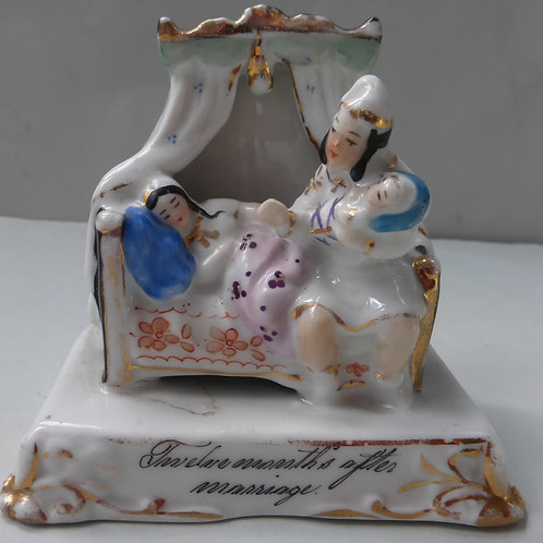 19THC FAIRING TITLED TWELVE MONTHS AFTER MARRIAGE