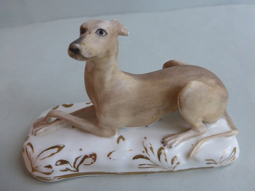 19THC STAFFORDSHIRE GRAINGER WORCESTER OF GREYHOUND