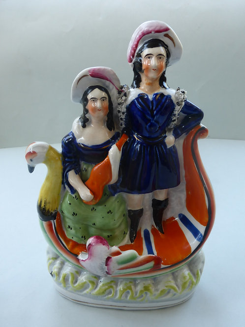 19THC. STAFFORDSHIRE THEATRICAL GROUP Ref. # 4306
