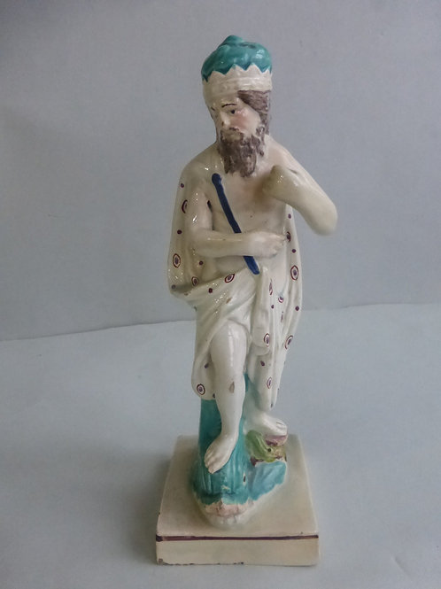 Rare early 18thc/19thc Staffordshire Pearlware figure NEPTUNE Ref: # 4272
