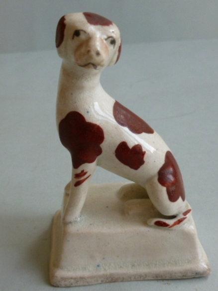 19THC. STAFFORDSHIRE DOG # 2632