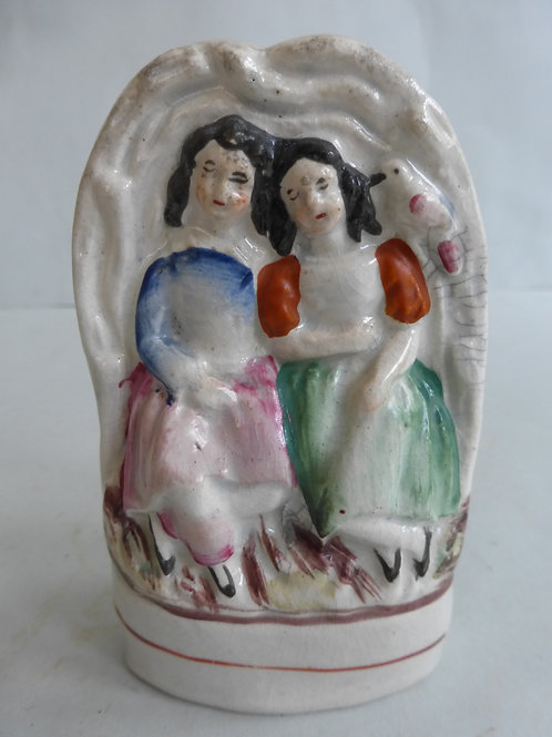 MINIATURE 19TH CENTURY STAFFORDSHIRE FIGURE