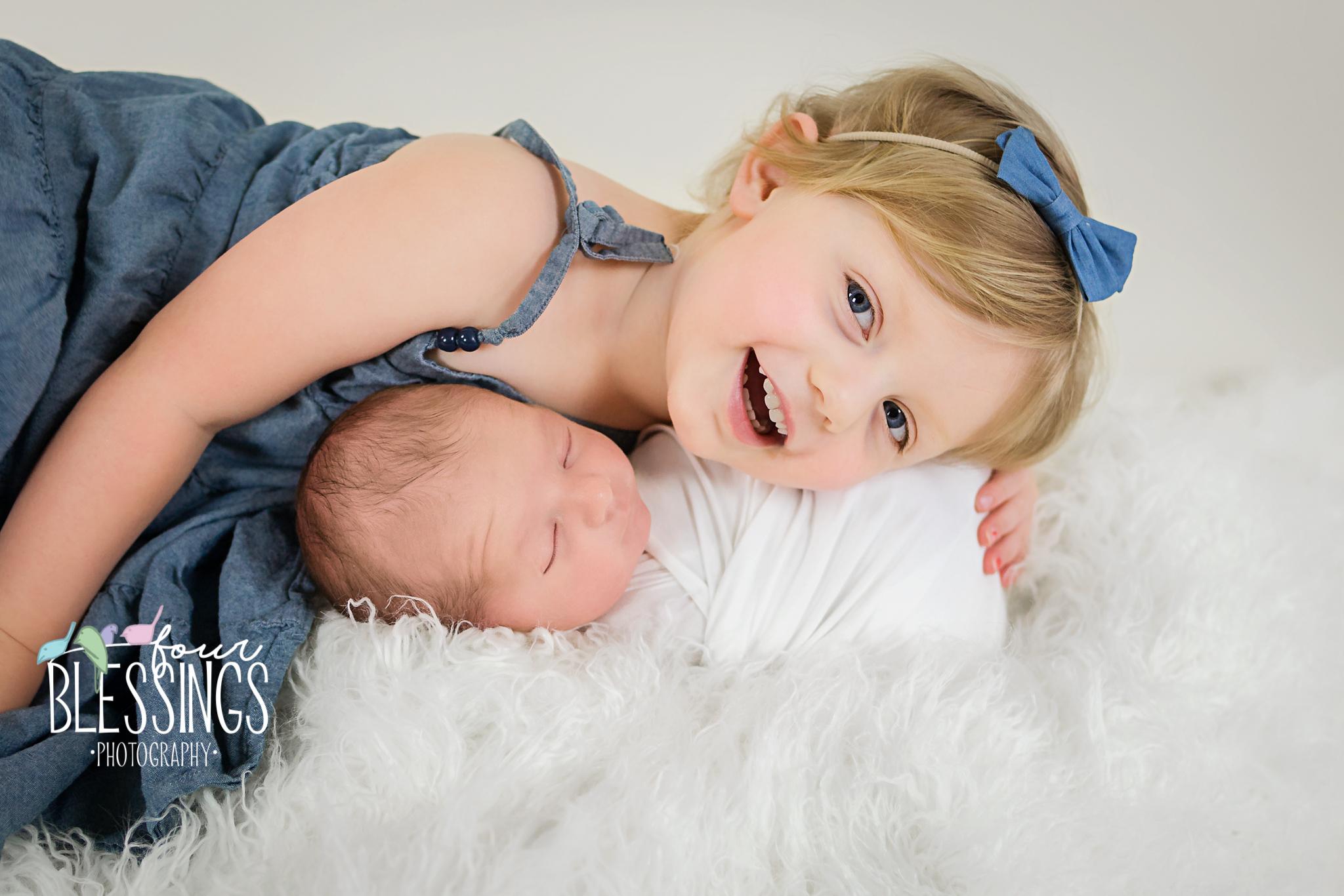 Baby & Sibling