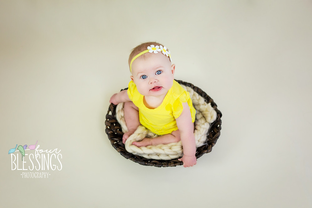 6 month baby girl