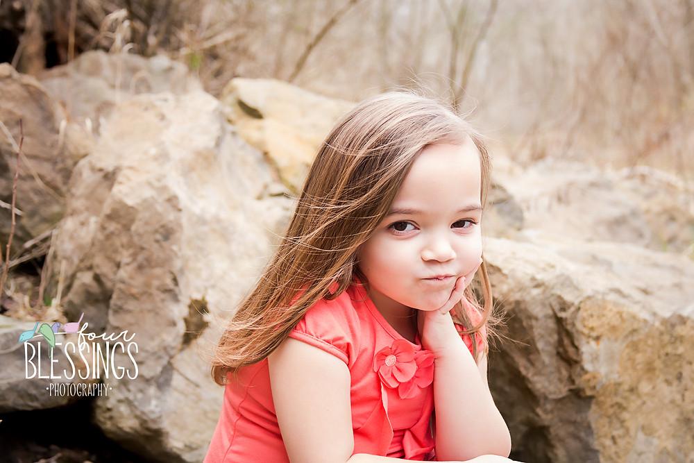 4 year old girl