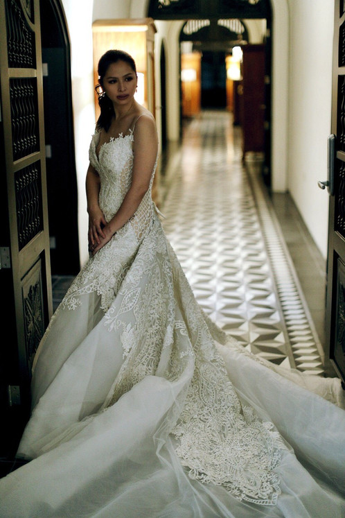 Cary Santiago Bridal Gown for Rent | Wedding Gown Rentals Manila ...