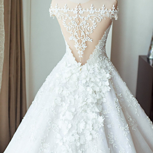 Mak tumang 001 wedding gown rentals cocktail dress rentals new mak tumang bridal ball gown junglespirit Choice Image