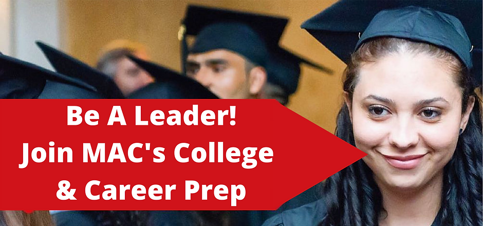 Be A Leader! Join the College & Career P