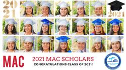 2021 MAC Scholars