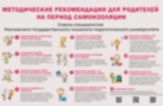 Методические рекомендации для родителей.