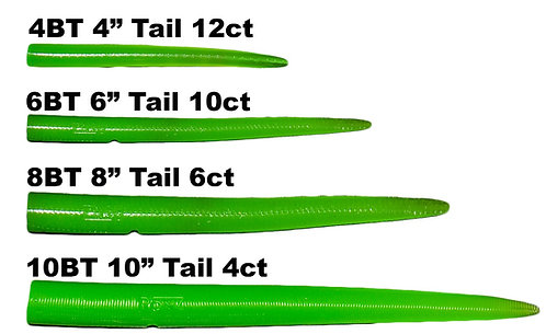 RonZ Replacement Tails - Green Glow