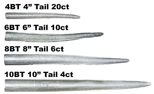 RonZ Replacement Tails- Silver Metallic