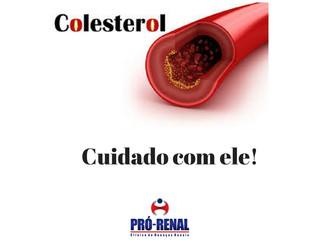 Controlar os níveis de colesterol é de grande importãncia para se manter saudável.