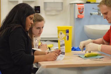 Keele National Suturing Skills Course and Competition