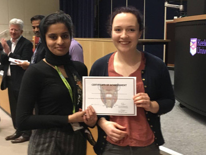 Sunna Ali and Steph Lee - Winners of Case Presentation 2017