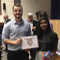 James McCrea and x - Winners of Clinical Case Presentation 2017