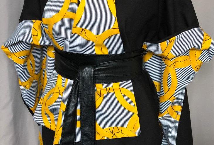 Cape Kimono réversible