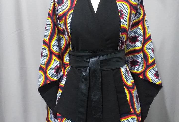 "Cape Kimono ""Kérina"""
