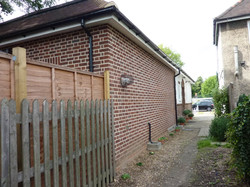SIDE VIEW OF REAR EXTENSION