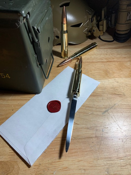 .50 Cal Letter Opener
