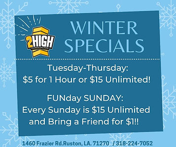 Blue Snowflakes Winter Promotion Faceboo