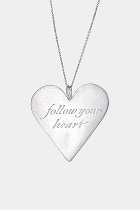 Follow Your Heart Pendant