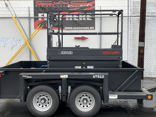 Scissor Lift Production Rentals