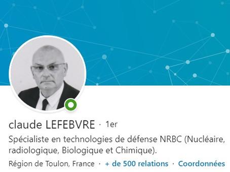 Bienvenue à Claude LEFEBVRE