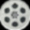Silver Film Reel PNG..png