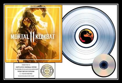 Mortal Kombat - Platinum I.M.C.A. Plaque Award