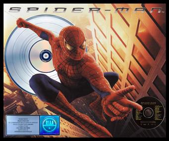 Spiderman Platinum RIAA Soundtrack 20 x  24