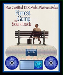 Forest Gump RIAA Soundtrack Award Plaque