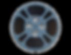 Film Reel Blue PNG..png