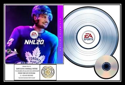 NHL 20 EA Sports I.M.C.A.- Platinum Award