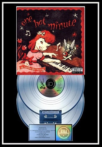 0000000000000000000 Red Hot Chili Peppers - One Hot Minute 2x Platinum 18 x 26