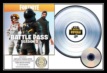 Fortnite Battle Royale - Platinum Winner Award
