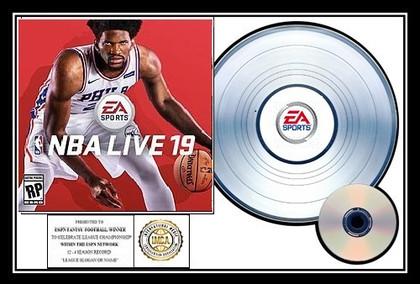 NBA Live 19  EA Sports I.M.C.A.- Platinun Champion Award