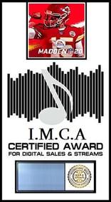 Digital Sales I Madden 20 I.M.C.A. Award