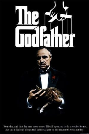The Godfather Official Movie Banner(HD)