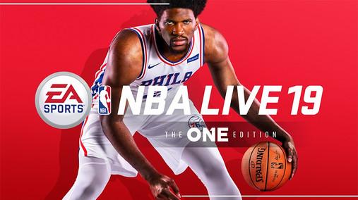 NBA LIVE 19 XB1 Promo Cover