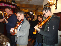 John and his fiddle orchestra
