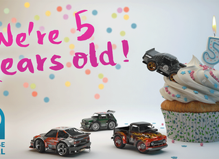 Playrise Digital celebrates 5th Anniversary as Table Top Racing and TTR: World Tour rack up 16.5 Mil