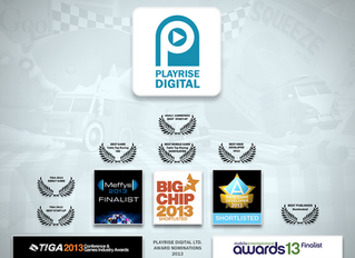 Playrise win Best Startup at TIGA Awards and TTR sails through 2M download milestone!