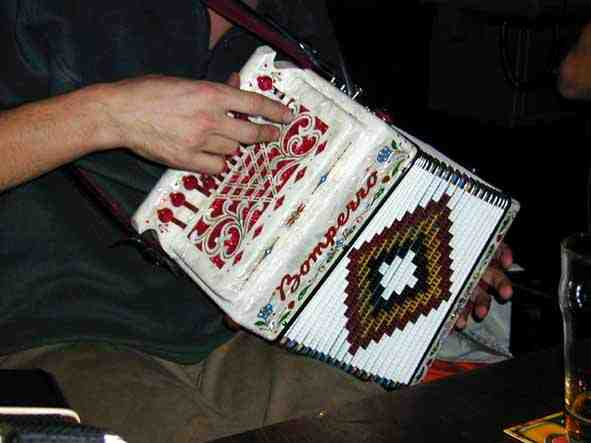 Dave's accordion