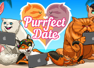 Stay in and play with your pussy(cat) this Valentine's Day! Thanks to new iOS game, Purrfect Date